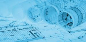 rulony planów architektonicznych